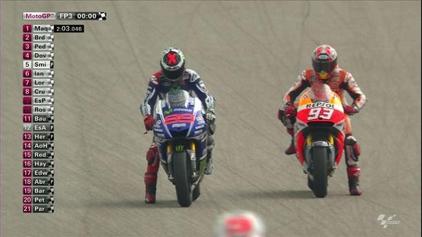 Hasil FP3 MotoGP Austin | Sneijdera D' Iniesta