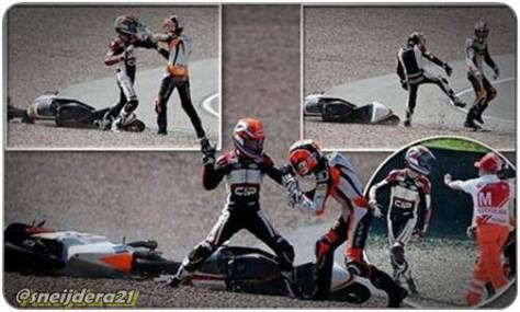 Dua Pembalap Belanda Adu Jotos Gara-Gara Senggolan di GP Jerman