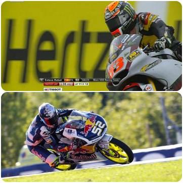 hasil FP2 moto2 dan Moto3 Inggris 2014