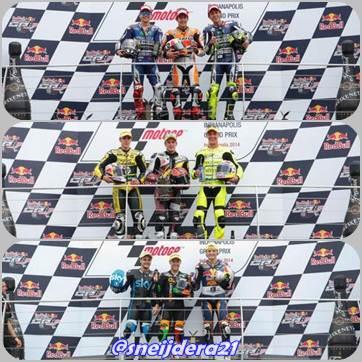Klasemen MotoGP 2014 Setelah Seri Indianapolis