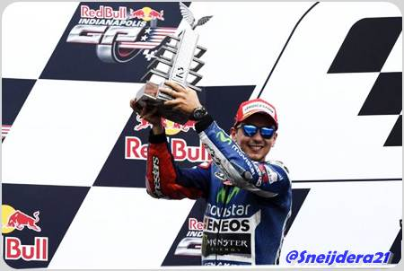 lorenzo podium gp indy 2014