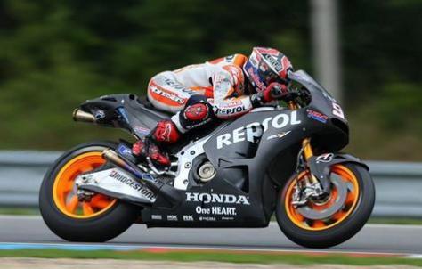 Marquez tercepat di Tes MotoGP Brno