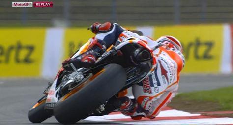 MARQUEZ tercepat fp1 motogp inggris 2014