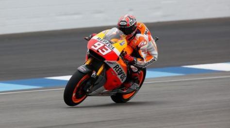marquez tercepat fp2 MotoGP indy