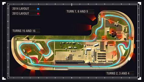 New layout IMS circuit MotoGP