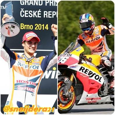 Pedrosa Raih Kemenangan Ke-26 Kelas utama di GP Ceko