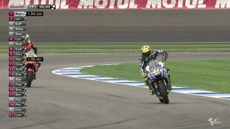 Rossi Tercepat di Latihan Pembuka MotoGP Indianapolis