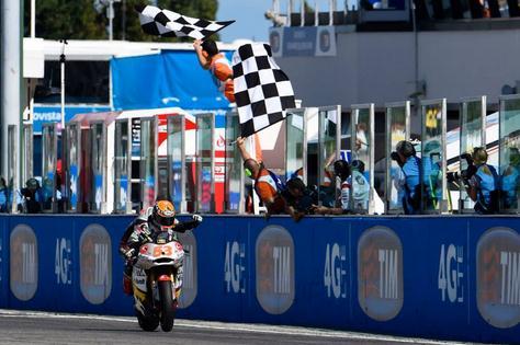 rabat menang di Moto2 misano 2014