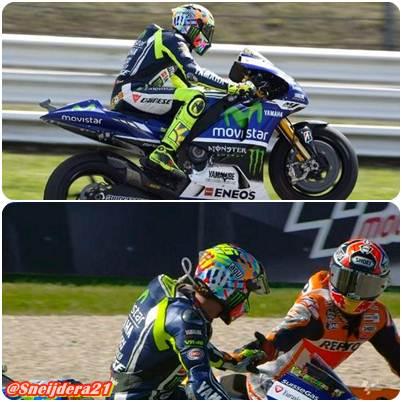 Rossi Raih Kemenangan di Misano, Marquez Hanya Finis 15 Setelah Terjatuh