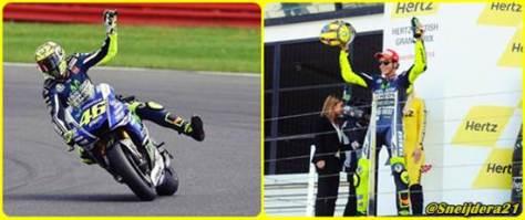 Valentino Rossi Bahagia Akhiri Start Ke-246 di Podium