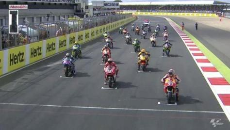 video full race motogp inggris 2014
