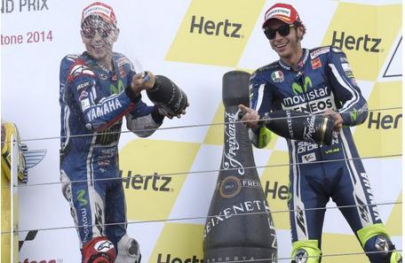 yamaha dobel podium di GP Inggris