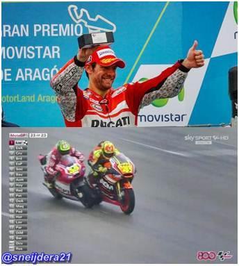 cructhlow puas podium di Aragon
