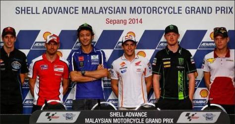 jumpa pers GP Malaysia 2014