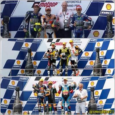 Klasemen MotoGP 2014 setelah race sepang