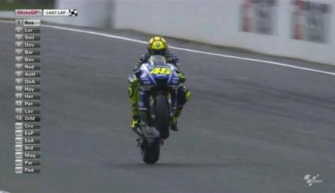 Rossi juara di australia