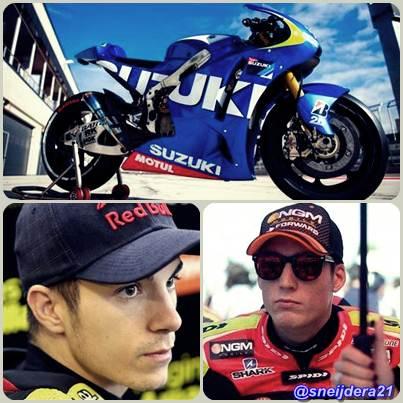 suzuki combak ke MotoGP 2015 dengan Espargaro dan Vinales
