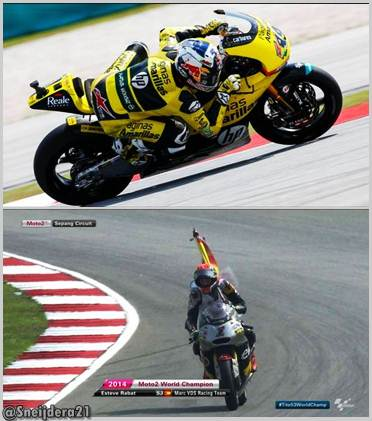 vinales menang di sepang, Rabat juara dunia Moto2 2014