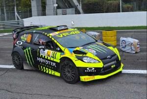 Isi Liburan, Rossi Ramaikan Lagi di Monza Rally Show 2014
