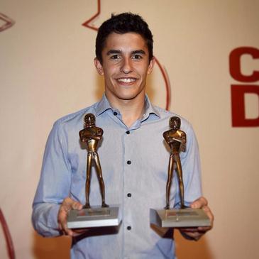 marquez in caschi d'oro award 2014
