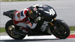 Miller test sepang day 2 with lcr honda