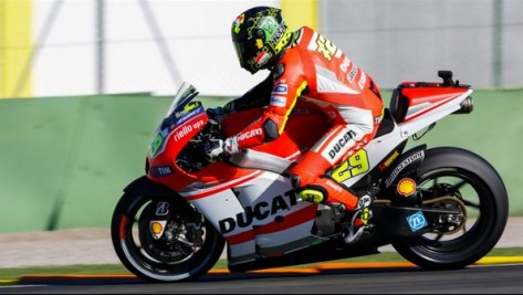 Test MotoGP Valencia 2014 - Andrea Iannone - Ducati Team