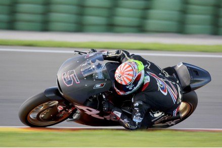 zarco with kalex team Ajo Moto2 at tes valencia Moto2 2014