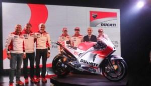Ducati Team Luncurkan Desmosedici GP15