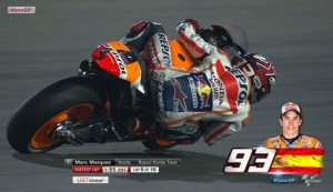 fastest man fp1 in qatar 2015 - marc marquez