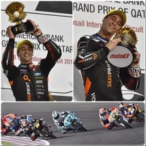 alexis masbou podium moto3 qatar 2015