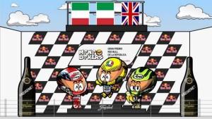cuplikan video cartoon motogp argentina 2015