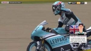 Danny Kent Menangi Balapan Dramatis Moto3 di Jerez